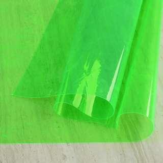 Силікон (0,2мм) салатовий неоновий прозорий ш.122 оптом