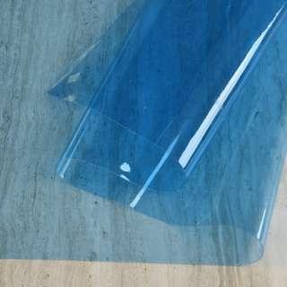 Силікон (0,2мм) голубой прозорий ш.122 оптом