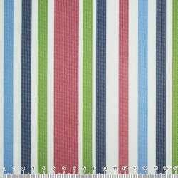 ПВХ ткань оксфорд 600 D в полоску зелено-синюю, вишнево-белую ш.150 оптом