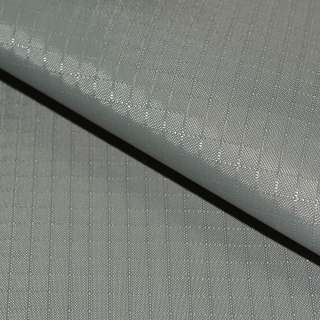 ПВХ ткань оксфорд рип-стоп серая светлая ш.150 оптом