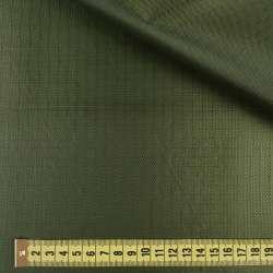 ПВХ ткань оксфорд рип-стоп зеленая темная, ш.150