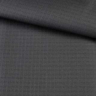 ПВХ ткань оксфорд рип-стоп серая темная, ш.150 оптом