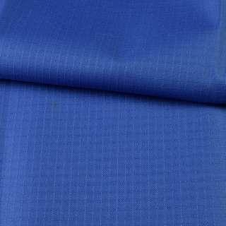 ПВХ ткань оксфорд рип-стоп синяя ультрамарин, ш.150 оптом