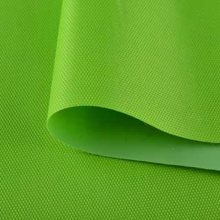 Ткань сумочная  ПВХ 420 D салатовая ш.150 оптом
