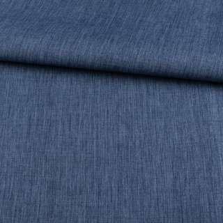ПВХ ткань оксфорд лен 300D синий темный, ш.150 оптом