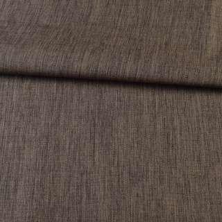 ПВХ ткань оксфорд лен 300D коричневый, ш.150 оптом