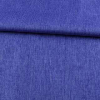 ПВХ ткань оксфорд лен 300D синий, ш.150 оптом