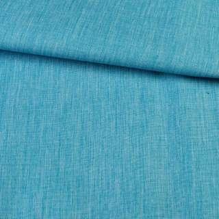 ПВХ ткань оксфорд лен 300D бирюзовый, ш.150 оптом