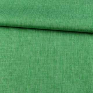 ПВХ ткань оксфорд лен 300D зеленый, ш.150 оптом