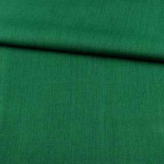 ПВХ ткань оксфорд лен 300D зеленый темный, ш.150 оптом