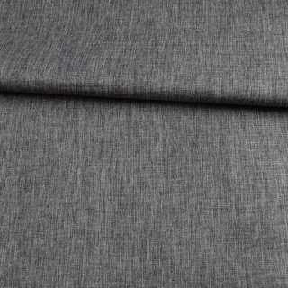 ПВХ ткань оксфорд лен 300D серый темный, ш.150 оптом
