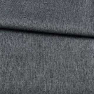 ПВХ ткань оксфорд лен 300D серо-синий темный, ш.150 оптом