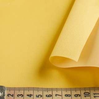 Ткань тентовая ПВХ 420D желтая ш.150 оптом
