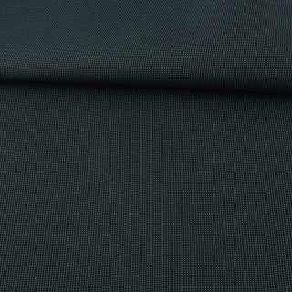 Тканина ПВХ 600D чорна в зелену крапку, ш.156 оптом
