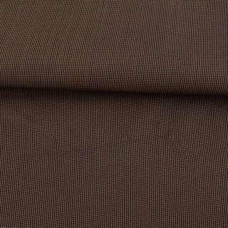 Ткань ПВХ 600D черная в бежевую точку, ш.158 оптом