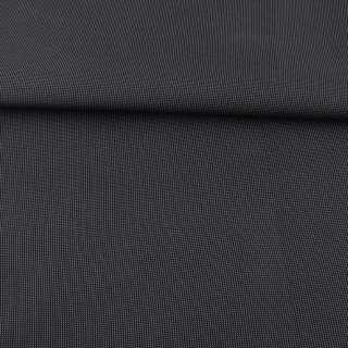 Тканина ПВХ 600D чорна в сіру крапку, ш.157 оптом