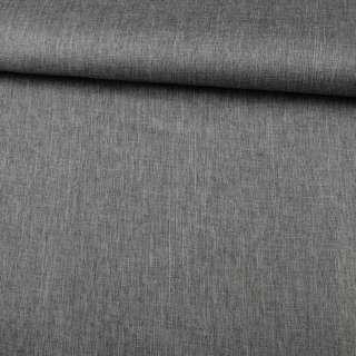 ПВХ тканина оксфорд льон 300D сірий темний, ш.150 оптом