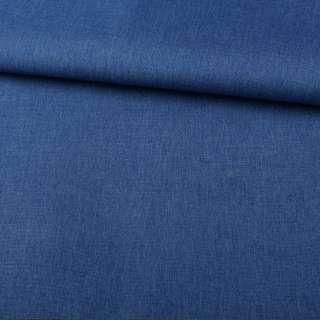 ПВХ тканина оксфорд льон 300D синій ш.150 оптом