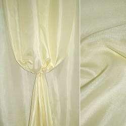 Рогожка молочно-лимонная ш.150 оптом