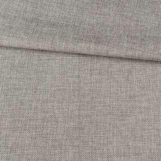 Рогожка деко серая светлая меланж, ш.150 оптом