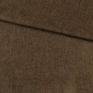 Рогожка деко коричневая меланж, ш.150 оптом