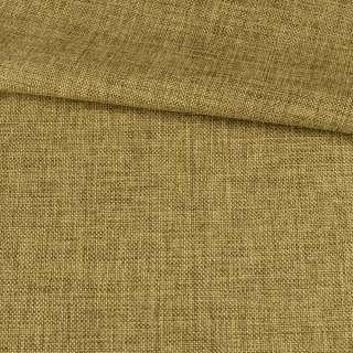 Рогожка деко коричнево-желтая меланж, ш.150 оптом