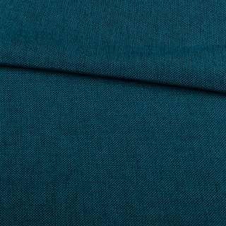 Рогожка деко синяя меланж, ш.150 оптом