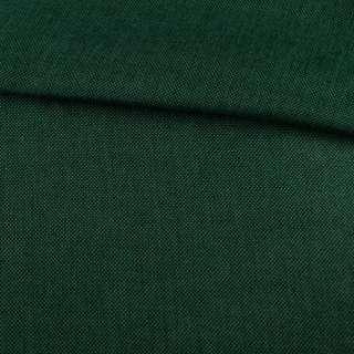 Рогожка деко зелена темна меланж, ш.150 оптом