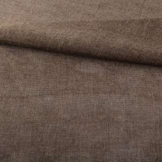 Рогожка деко коричнево-серая меланж ш.150 оптом