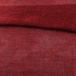 Рогожка деко червона темна меланж ш.150 оптом