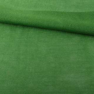 Рогожка деко зелена яскрава ш.150 оптом