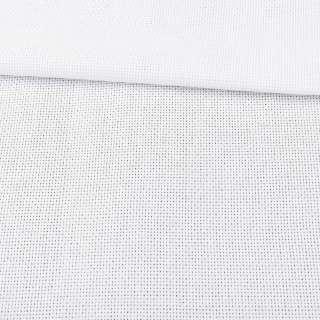 Тканина для вишивки Аїда 14 біла (Черкаси) ш.150 оптом