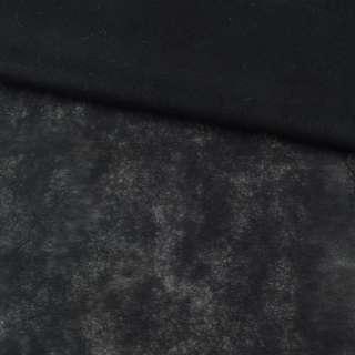 Флизелин неклеевой (спанбонд) черный, плотность 30, ш.160 оптом