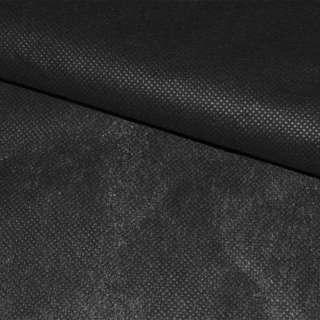 Флизелин неклеевой (спанбонд) черный, плотность 40, ш.150 оптом