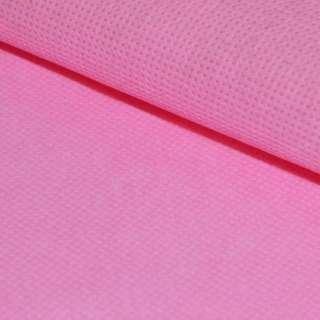 Флизелин неклеевой (спанбонд) розовый, плотность 60, ш.160 оптом