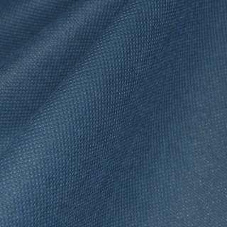 Флизелин неклеевой (спанбонд) синий темный, плотность 60, ш.160 оптом