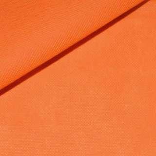 Флизелин неклеевой (спанбонд) оранжевый, плотность 70, ш.160 оптом