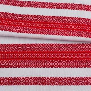 Тканина з українським орнаментом Ностальгія, ш.150 оптом