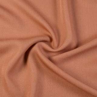 759  Креп  жорж.  коричневый оптом