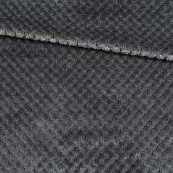 Плюш минки односторонний серый, ш.170 оптом