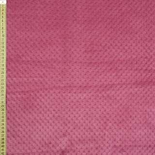 Плюш минки односторонний розово-сиреневый, ш.185 оптом