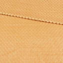 Плюш минки односторонний палевый, ш.180 оптом