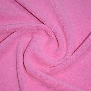 Велсофт-махра одностор. ярко розовая ш.205 оптом