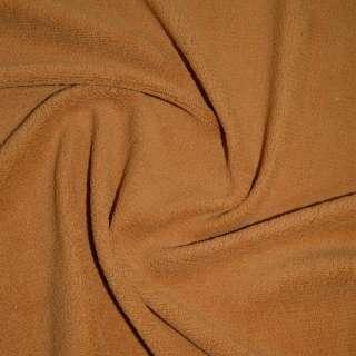 Велсофт-махра одностор. рыже коричневая ш.205 оптом