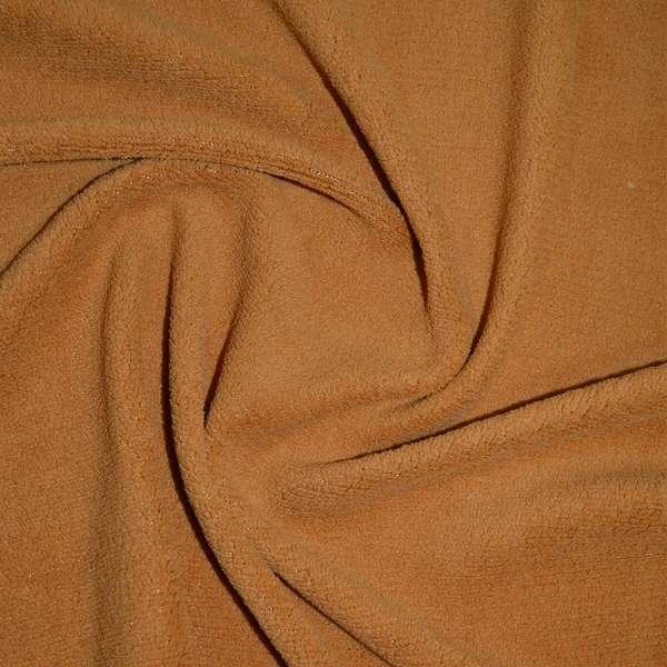 Велсофт-махра односторонняя рыже-коричневая ш.205 оптом