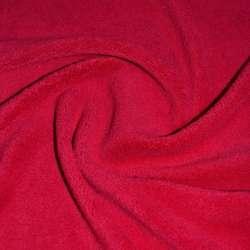 Велсофт-махра односторонняя красная оптом