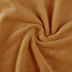 Велсофт (махра) двухсторонний буро-оранжевый ш.170 оптом