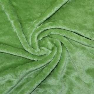 Велсофт-махра двухсторонняя светло зеленая ш.190 оптом