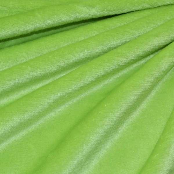 Велсофт-махра двухсторонняя салатовая ш.190 оптом