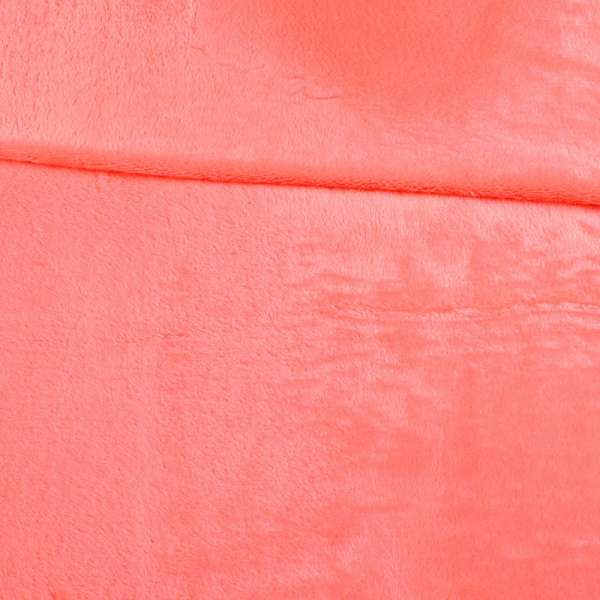 Велсофт двухсторонний коралловый, ш.180 оптом